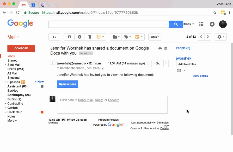 PSA: This Google Doc scam is spreading fast and will email everyone you know