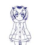 コノハ博士をシュッと細くさせるために恐怖を与えたらギャン泣きしちゃったGIFアニメ #けものフレンズ…