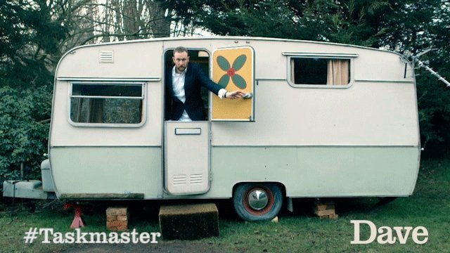 TODAY IS THE DAY. #Taskmaster series 4, brought to you by @alexhorne a...