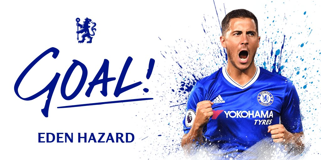 GOAL!!! Hazard!!!! #CHESOU https://t.co/xS0yV4xSqO