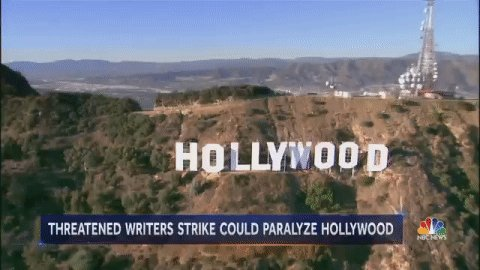 A new Hollywood writers' strike? It's possible.  @Miguelnbc explains why now on @NBCNightlyNews.