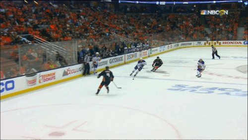 Adam Larsson's second goal of the game isn't pretty but it gives the O...