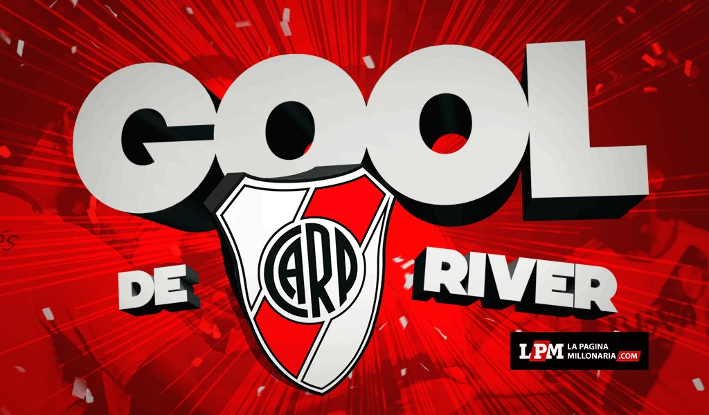 ¡GOOOOOOOOOOOOOOOOOOOOOL! Moreira la metió y #River iguala 1-1 con Eme...