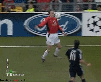 Happy 36th Birthday John O\Shea. Let\s forget the relegation and rejoice in him nutmegging the mighty Figo!