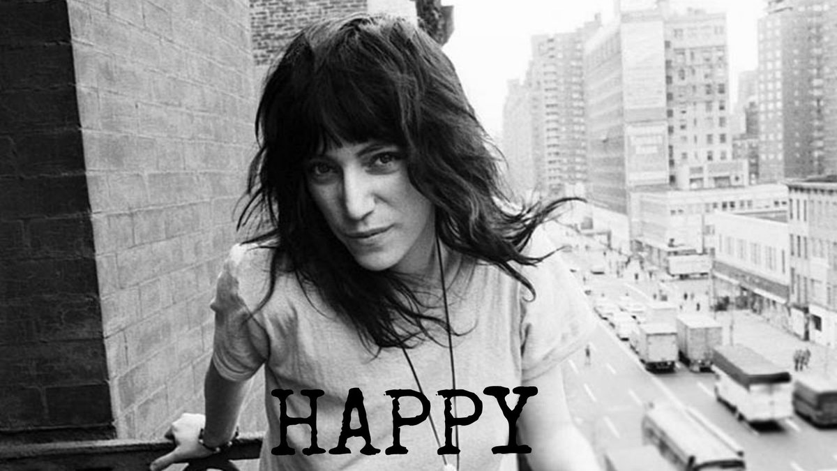 """We go through life. We shed our skins. We become ourselves"" – Patti Smith  Happy 70th Birthday Patti x https://t.co/iCjumCkPZI"