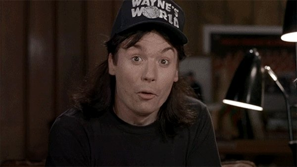 """...Not!"" became really popular in the 1990s, thanks to Wayne's World. https://t.co/X03JTI4DeU"