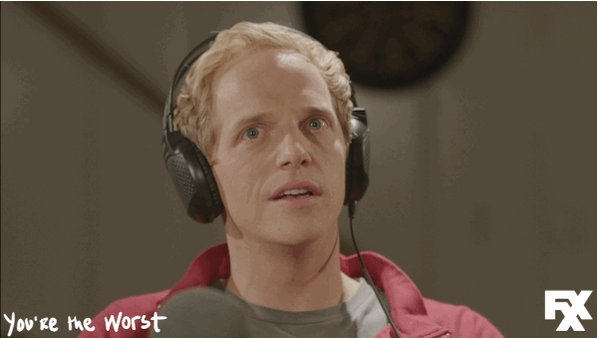 Find yourself with all of season 3 of #YoureTheWorst on FXNOW.   https://t.co/oSm5KlMD7T