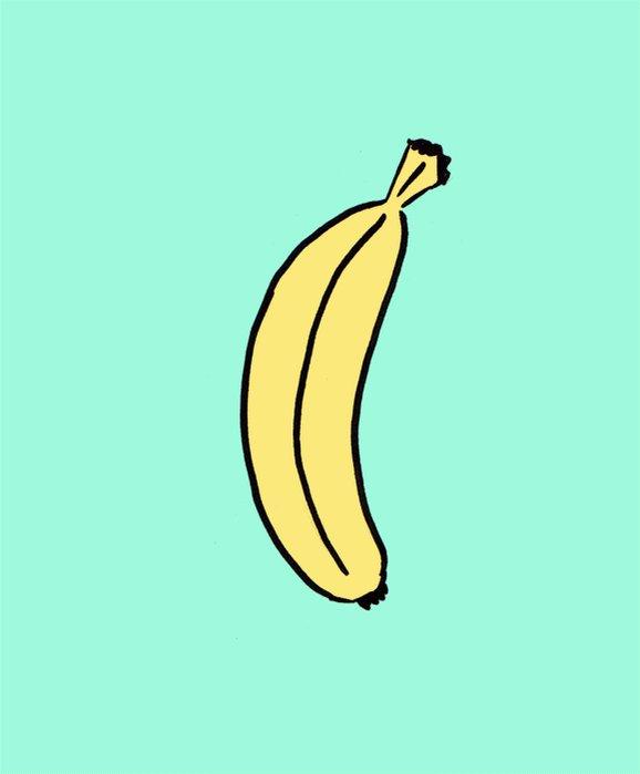 Анимации картинок с бананами, картинка поздравление