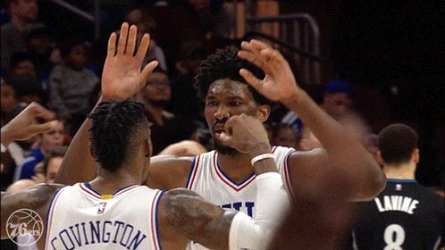 RETWEET to cast your All-Star vote for Joel Embiid #NBAVote ✋🏾👂🏾