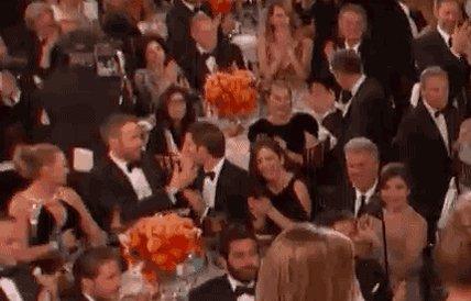 RT @9GAG: While Ryan Gosling was winning, Ryan Reynolds and Andrew Garfield were kissing. #GoldenGlobes https://t.co/6yUIYoa8g4