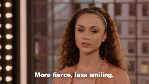 THE model mantra.  #ANTM https://t.co/8Z8m1x7aW6