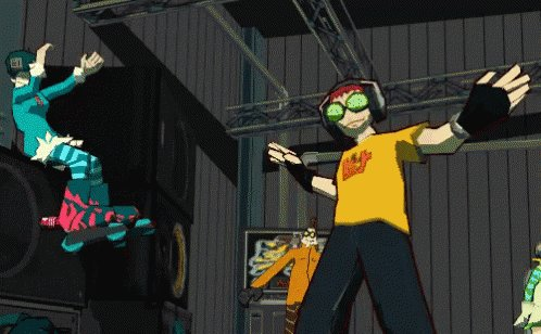 @TempestBlayze imma let you finish, but Jet Set Radio is the best game soundtrack evah! #aisle10 #letmomsleep https://t.co/9p3XKnUgrY