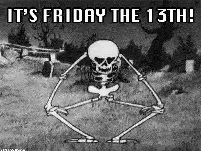 Happy Friday the 13th everyone! https://t.co/aLHxE6K4lv