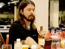 "IHeartRadio ""Happy Birthday to our favorite wine connoisseur Dave Grohl. Have a drink on us!"
