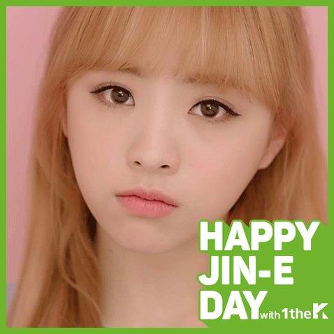 오마이걸의 러블리한 진이의 생일을 축하합니다 ♡_♡ Today is #OHMYGIRL #JinE's BirthDay!🎉 #Ha...