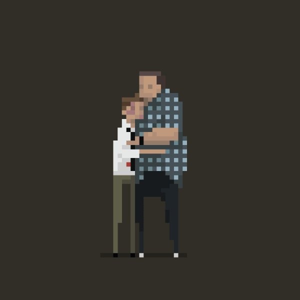 [Cool] His name is Robert Paulson. created by Dušan Čežek #gifmagazine #funny #ドット絵 #Movie