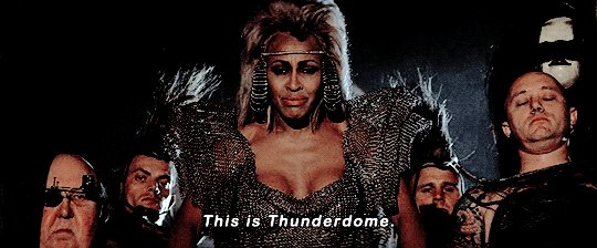#ThereIsNoEscapeFrom Thunderdome!!! https://t.co/QNE98sfyKT