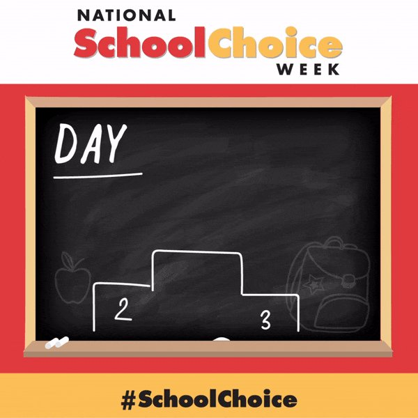 National #SchoolChoice Week 2017 has officially begun!  21,392 events will take place across America this week! https://t.co/dlwXgLTrn7
