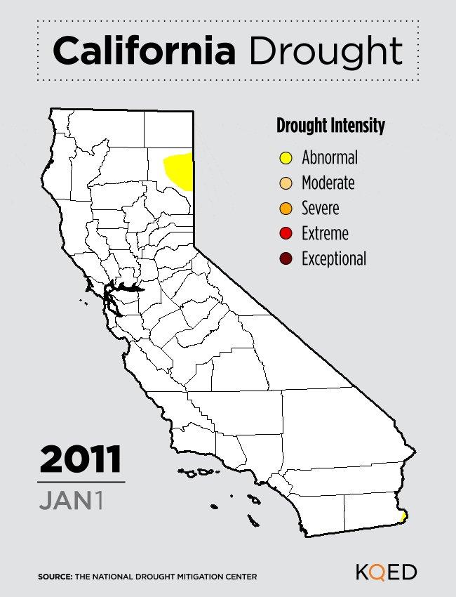 California's Shrinking Drought Nears Another Milestone #cawx #cawater #cadrought https://t.co/aqAzwcF9Lc https://t.co/u4ZJhpQ4tm