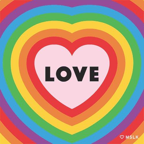 Happy #PrideMarch Melbourne! Everybody say looovvveee.