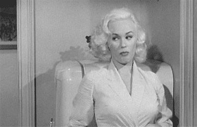 Happy birthday to the OG fame whore Mamie Van Doren!