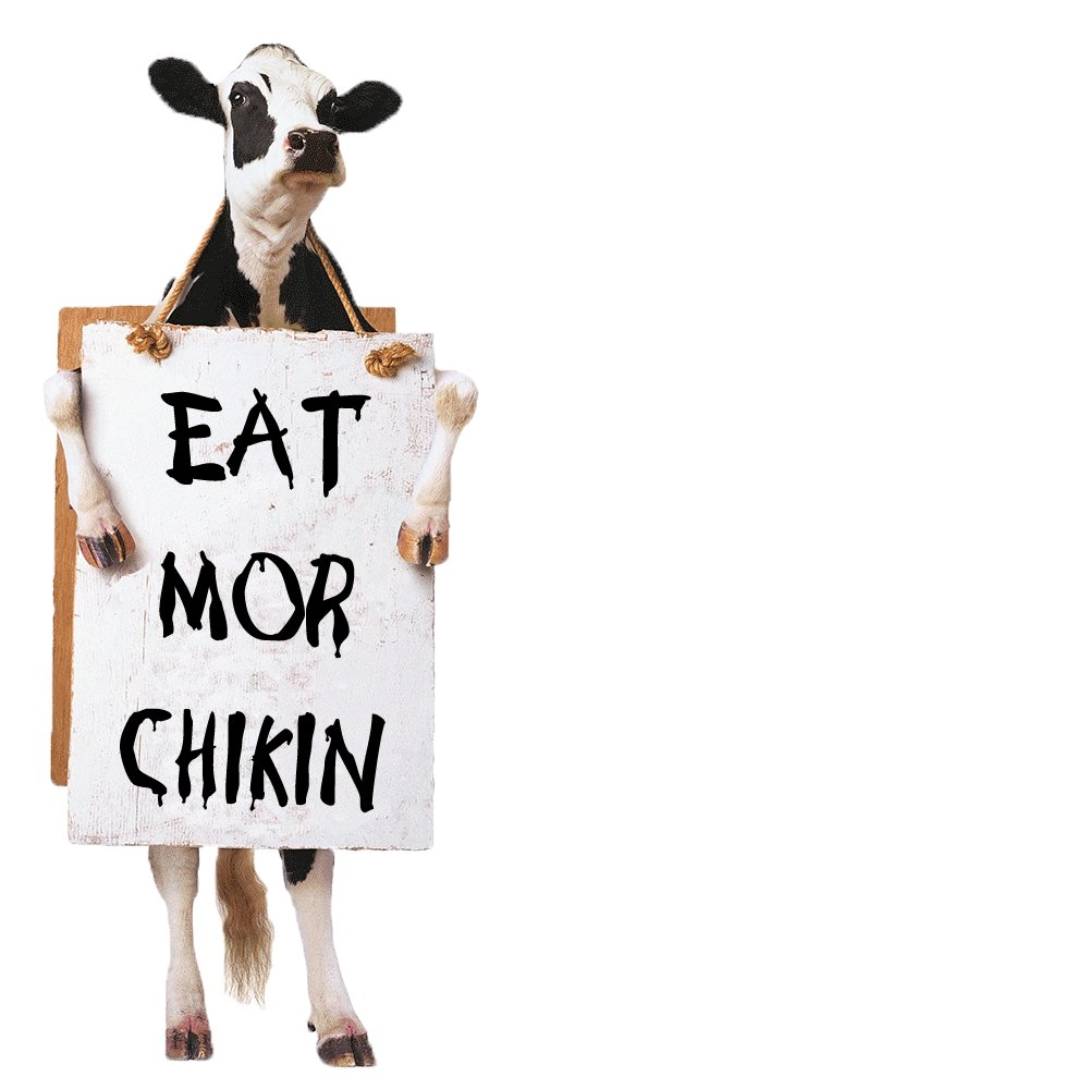 Image result for eat mor chikin sign