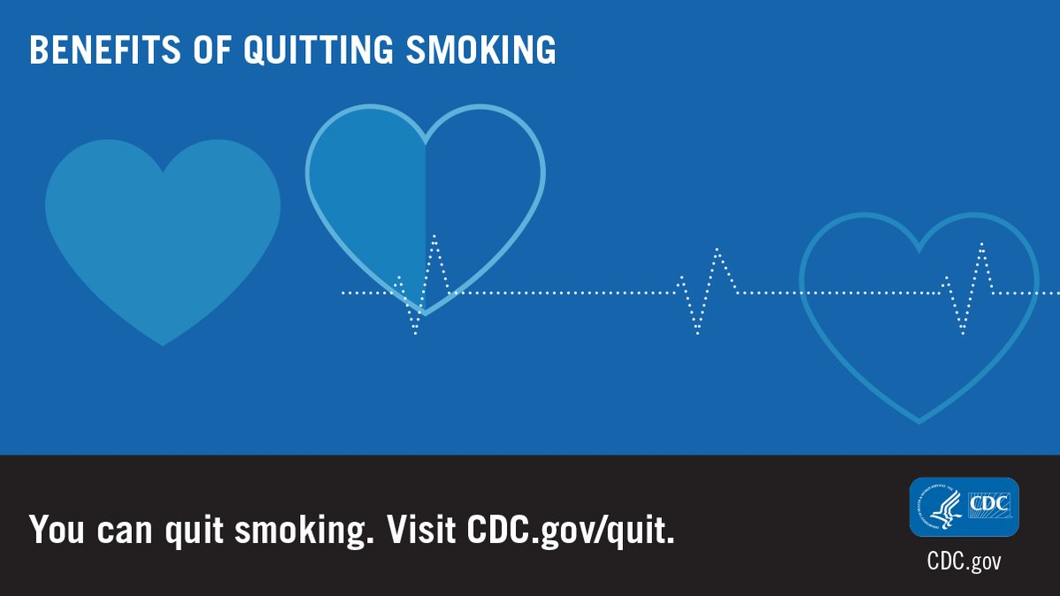 One year after quitting smoking the risk of heart attack drops sharply. #AmericanHeartMonth https://t.co/8BKzyGZdPl