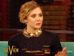 Happy birthday to the beautiful and talented Elizabeth Olsen