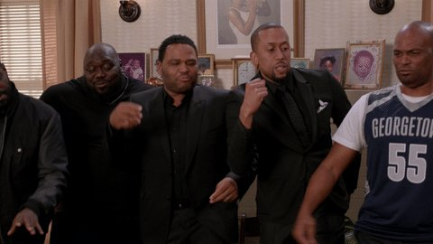 Time to break out the weekend dance. #FridayFeeling #blackish https://...