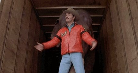 Wow! Glad Burt Reynolds is trending for his birthday. Happy birthday man!