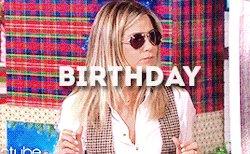 Happy Birthday, Jennifer Aniston!