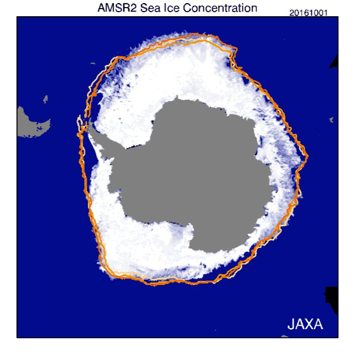 As Australia scorches, sea ice spread around Antarctica hits a record low C4gRjGGVMAMfIWl