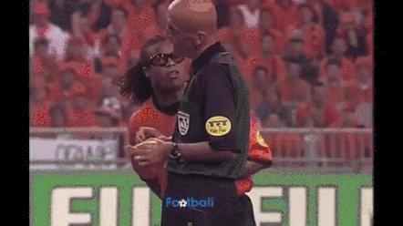 Happy Birthday to Pierluigi Collina! We wish more referees were like him!
