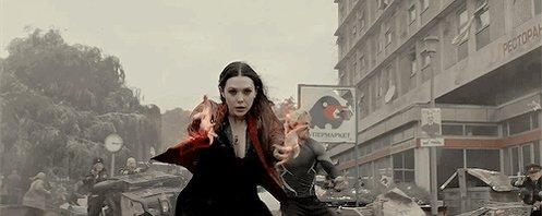 A happy 28th birthday to the MCU\s Scarlet Witch, Elizabeth Olsen.