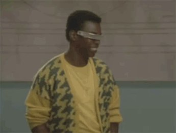 Ready to feel old? LeVar Burton is 60 today. Happy birthday to Geordie LaForge!