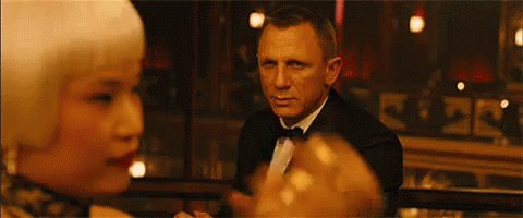 Happy Birthday to Daniel Craig.  Drink?