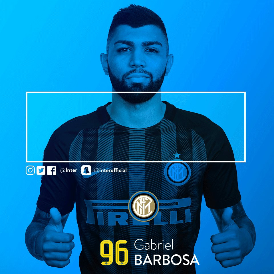 81: ⚽️ GOAL!!!!! @gabigol gives Inter the lead!!!! #BolognaInter 0-1 h...