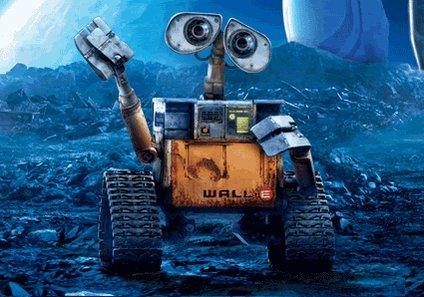 #SiMiVidaFueraUnaPelicula sería Wall-E, porque llevo siglos solo. http...