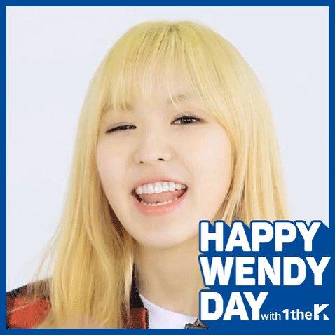 다람쥐보다 귀여운 승와니의 생일을 축하합니다 ღ◕‿◕ღ Today is #RedVelvet #Wendy's Birthday!...