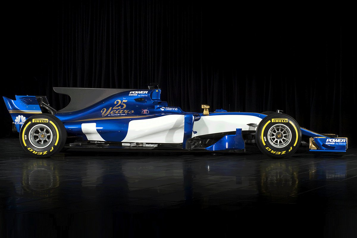 If you haven't seen it yet, this is the 2017 Sauber. https://t.co/q6BK...