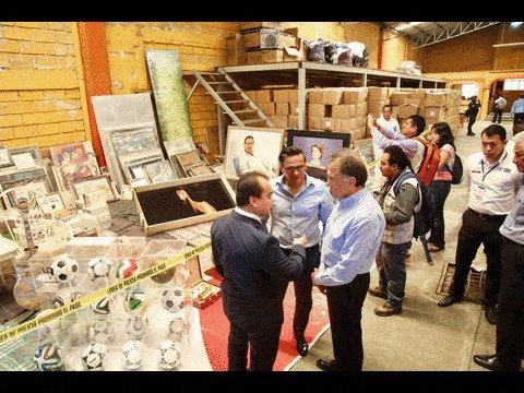 Aseguran bodega con documentos y bienes de Javier Duarte, en Córdoba h...