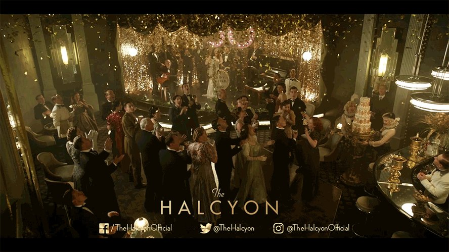 It's time for a party! Join us TONIGHT on @ITV at 9pm. #TheHalcyon htt...