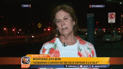 #T13Móvil | Mariana Aylwin habla de la prohibición de su ingreso a Cub...