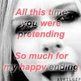 Not the same as Avril #My5WordHappyEnding https://t.co/eYX8HgnNXB