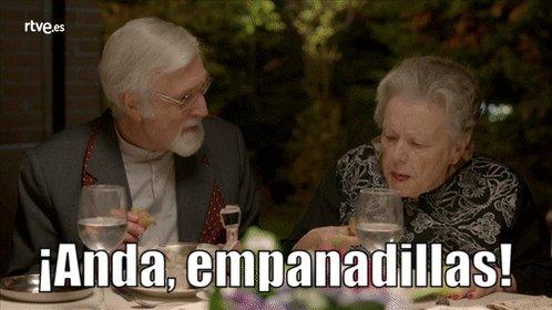 El exquisito paladar de Herminia... ;) #Herminiadas #CuentameToni http...