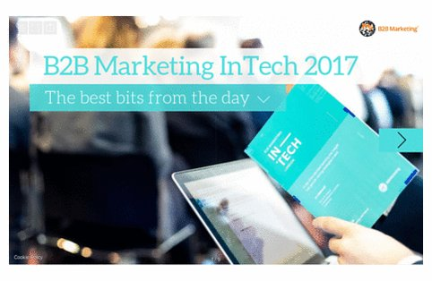 Missed Thursday's #InTech? Our key takeaways presentation has got you covered https://t.co/ymkWSs9E9O https://t.co/RU9kn3ddPt