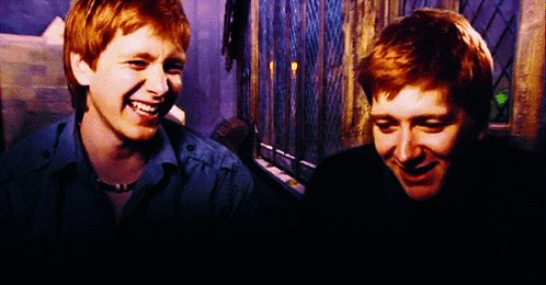 Happy birthday to my favorite twins and eternal Weasley mischief! and