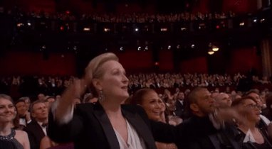 'Meryl Streep is a goddess.' –Javier Bardem  PREACH. #Oscars https://t...
