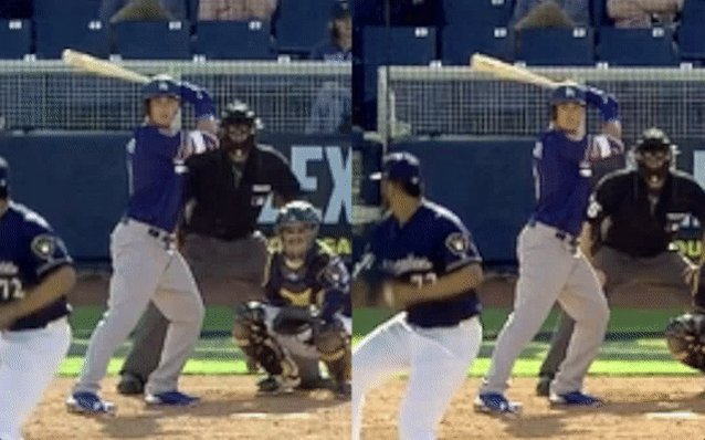 Notice take is aggressive as swing. Should be fully committed to swinging then decide to take. Not the alternative. https://t.co/HBwE947Y25