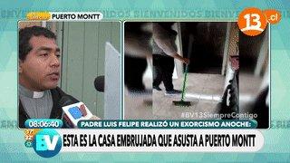 EN VIVO  | Esta es la casa embrujada que asusta a Puerto Montt #BV13si...